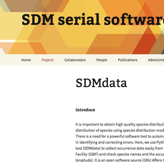 SDMdata
